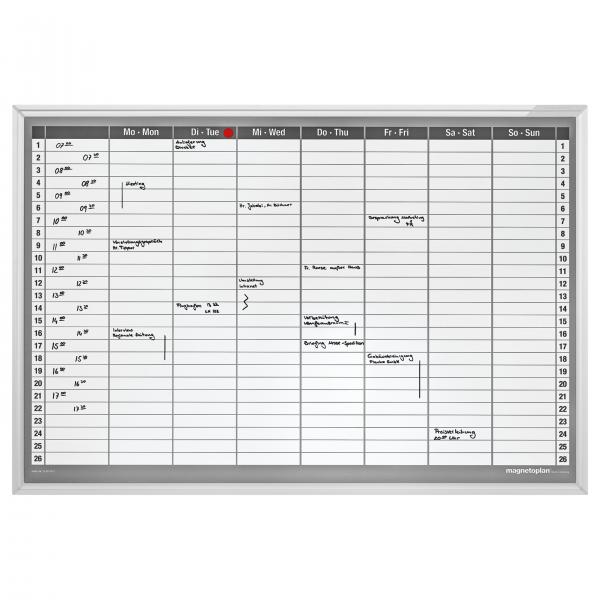 Planner Satamanal CC 920x625mm Magnetoplan
