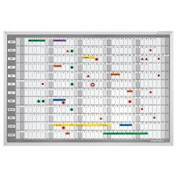 Planner Anual Manager 925x625mm Magnetoplan