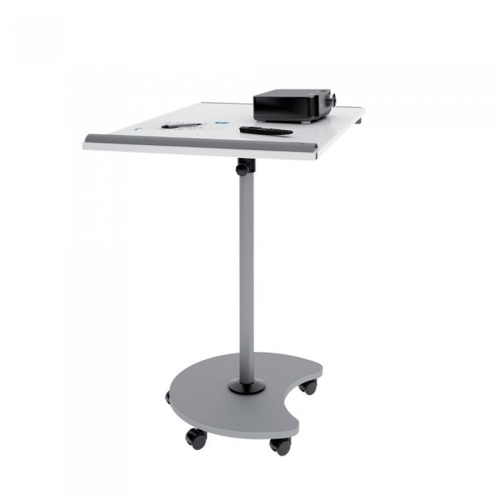 Flipchart Multifunctional mobil 360° magnetic, reglabil pe inaltime, Rocada 9